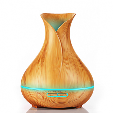 Wood Grain Essential Oil Diffuser (400ml)