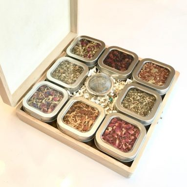Herbal Tea Sampler Gift Box